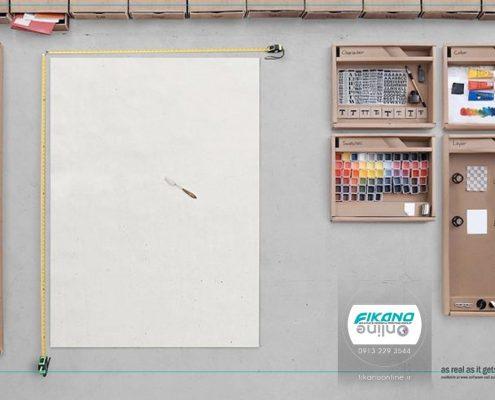 ایده های خلاق گرافیک در سایت فیکانو آنلاین