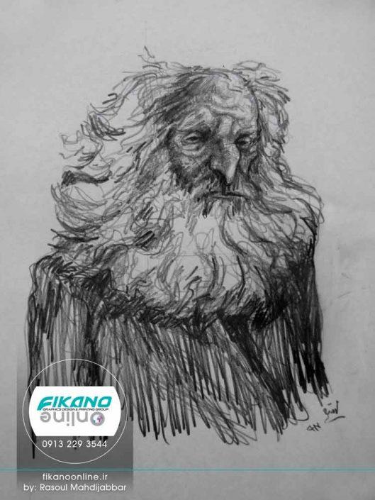 طراحی های خلاقانه رسول مهدی جبار - وب سایت فیکانو آنلاین www.fikanoonline.ir